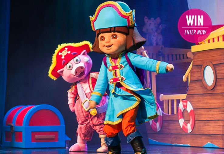 WIN 1 of 3 family passes to see Dora's Pirate Adventure