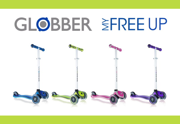 mom58313 reviewed WIN 1 of 4 Globber MyFree UP scooters