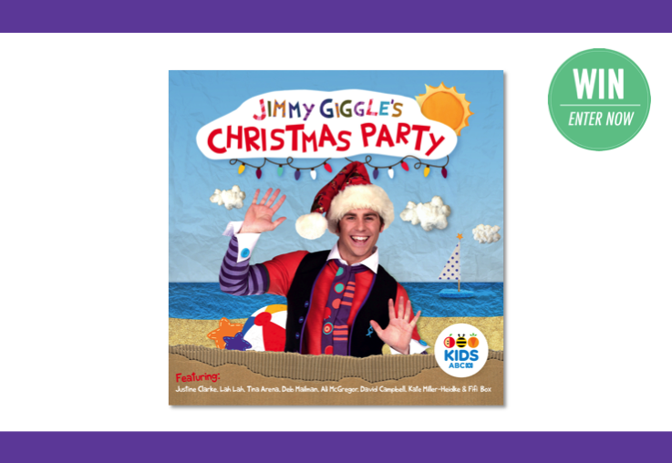 WIN tickets to Jimmy Giggle's Christmas Party