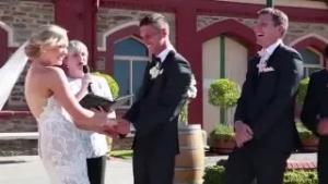 """Wedding Interruption, """"I need a poo!"""""""