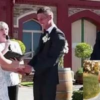 Funniest Wedding Interruption Ever!