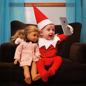 Baby Elf On The Shelf 6 facebook
