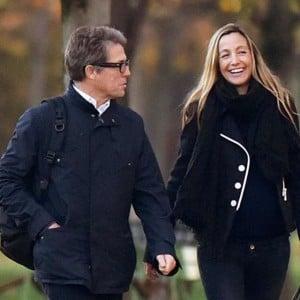 Hugh Grant & Girlfriend Anna