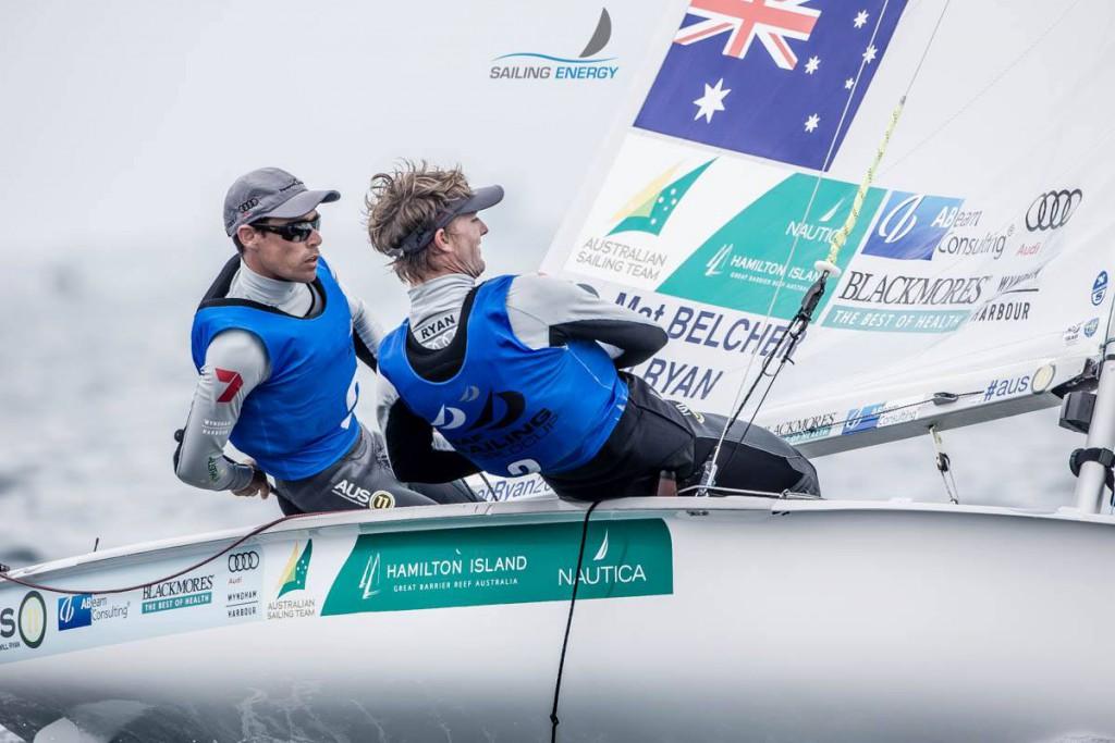 Mat and Will Sailing