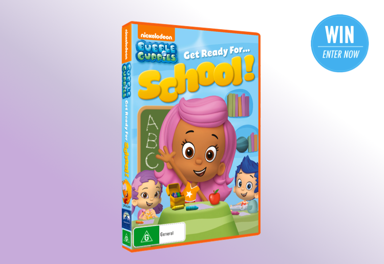 WIN 1 of 25 Nick Jr.'s Bubble Guppies Get Ready For… School! DVDs