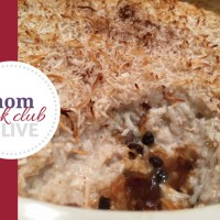 Sweet & Fruity Coconut Rice Pudding