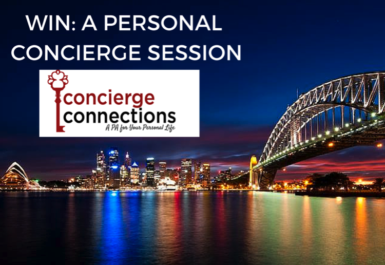WIN 1 of 8 personal concierge services with Concierge Connections
