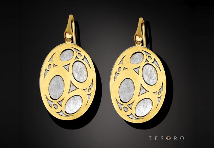 WIN 1 of 3 Limited Edition Tesoro Silver Earrings