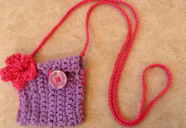 Kids crochet bag
