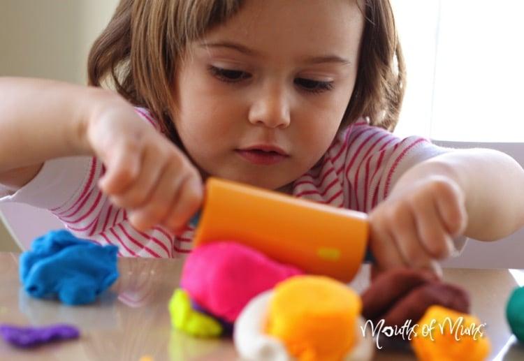 How To Make Your Own No Cook Playdough