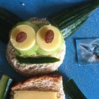 Yoda sandwich