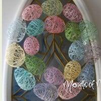 Make an Easter egg wreath