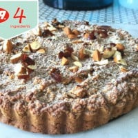 Gluten Free Date and Apple Cake