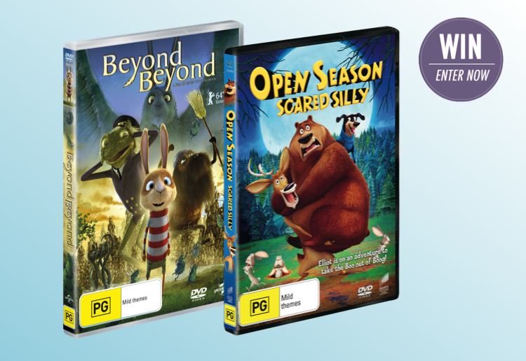 WIN 1 of 10 Beyond Beyond DVD packs!