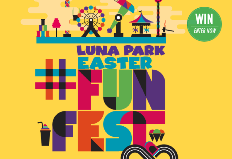 WIN Family Passes for Luna Park's Sydney Easter Fun Fest!