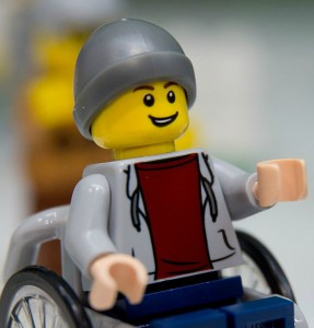 Child in a wheelchair is part of the new range. Image source: Getty Images.