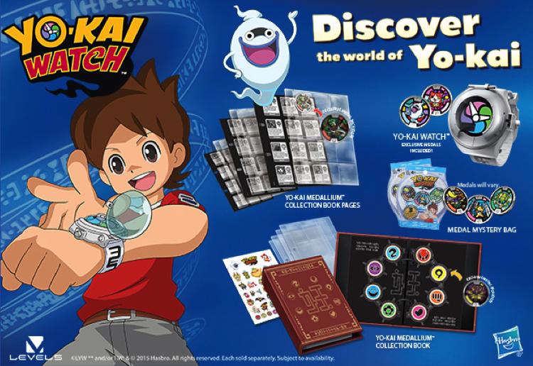 WIN the brand new Yo-kai Watch!