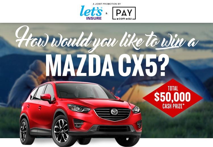 WIN a Mazda CX5!