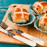 Bake your own hot cross buns this Easter