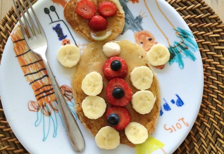 Egg Free Banana Pikelets