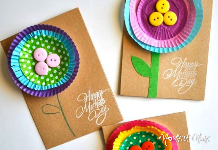10 Mother's Day Cards Dad Can Make With The Kids
