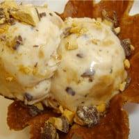 Cheat's Honeycomb Icecream