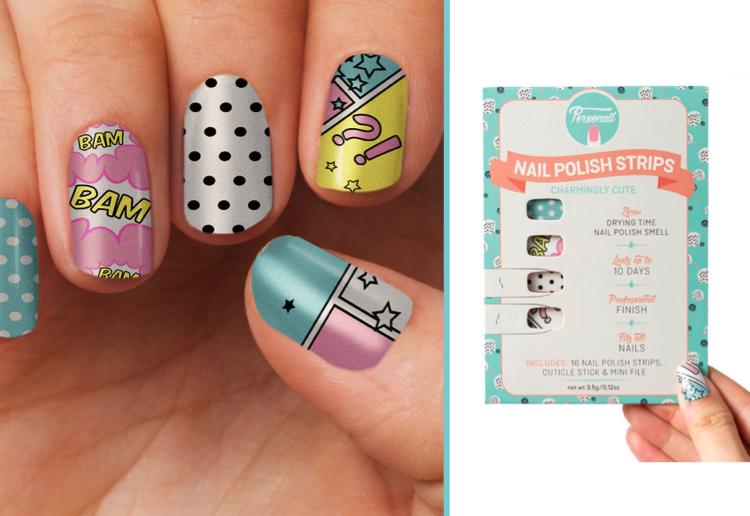 WIN 1 of 5 packs of Nail Polish Wraps From Personail!