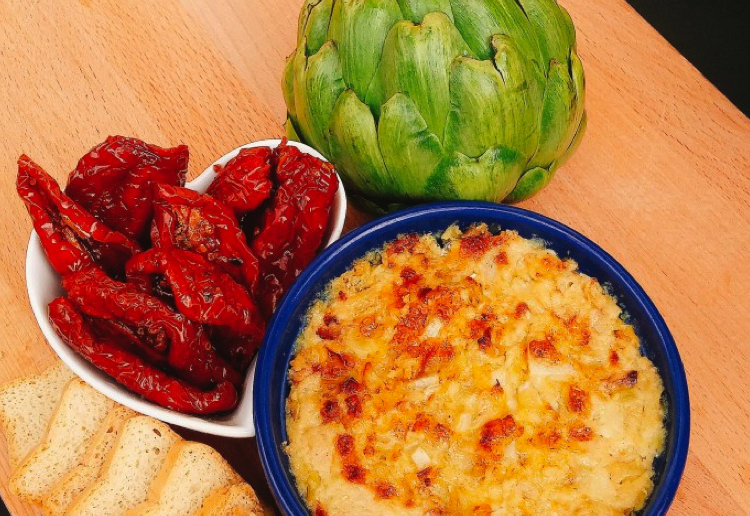 mom94125 reviewed Baked Artichoke Dip