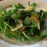 Rocket, pear and parmesan salad