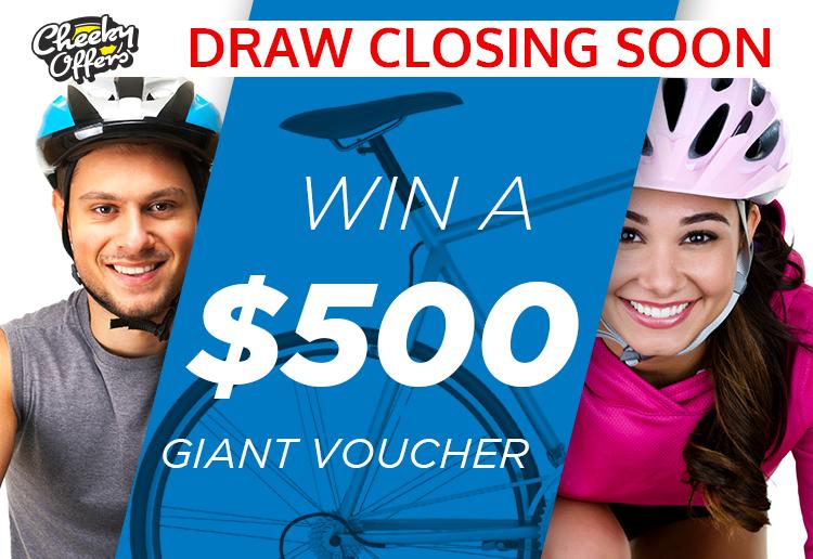 WIN a $500 GIANT voucher!