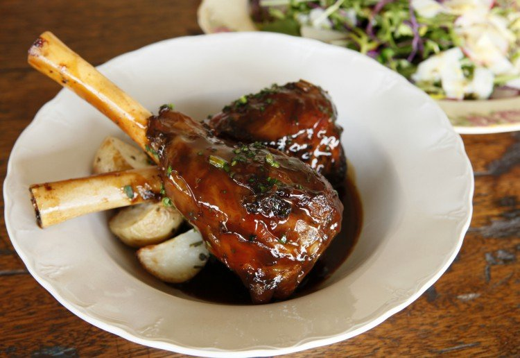 Italian Slow Roast Lamb Shanks