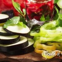 Brilliant hack to chop up your vegetables SUPER fast!