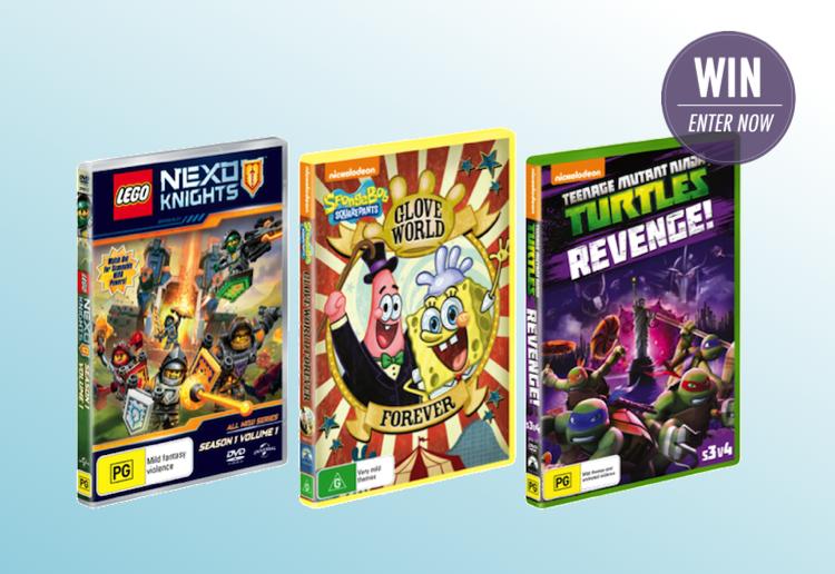WIN 1 of 10 Kids DVD Packs!