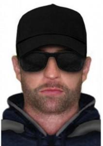 Police digital image of suspect.  Image source: Victoria Police News.
