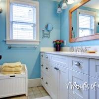 10 handy bathroom organisation ideas