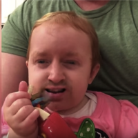 FUNNY VIDEO: Dad does face swap with his daughter