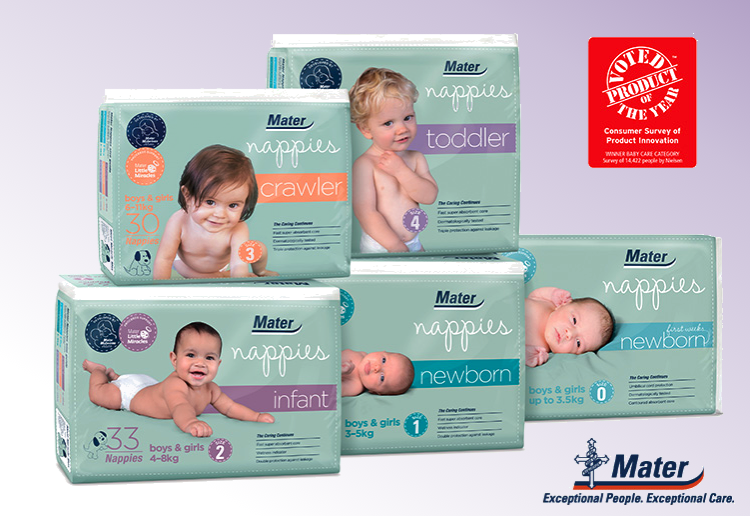 WIN the #1* Voted Nappies for 3 months!
