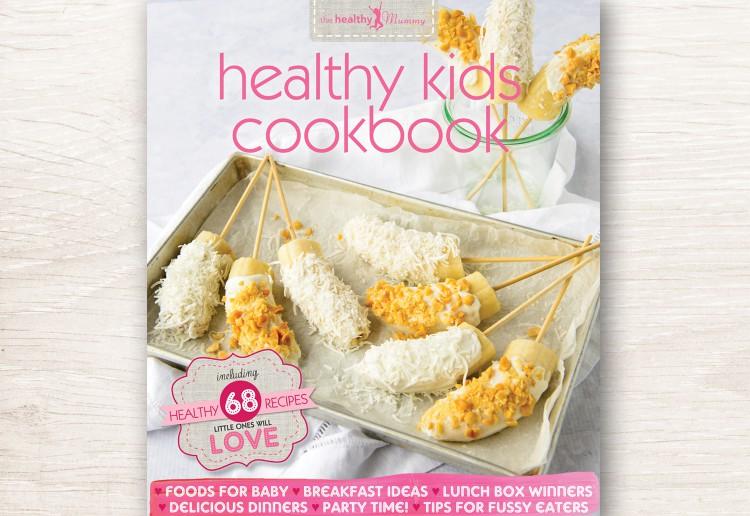 WIN 1 of 5 copies of The Healthy Mummy Healthy Kids Cookbook!