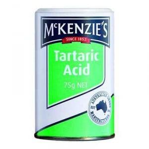 Mckenzies Baking Aids Acid Tartaric