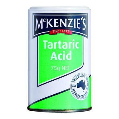 Mckenzies Baking Aids Acid Tartaric