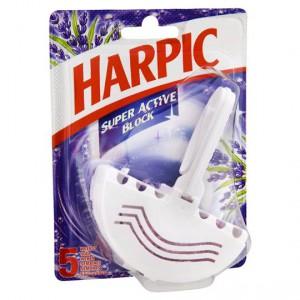 Harpic Super Active Primary Toilet Cleaner Under The Rim Lavender