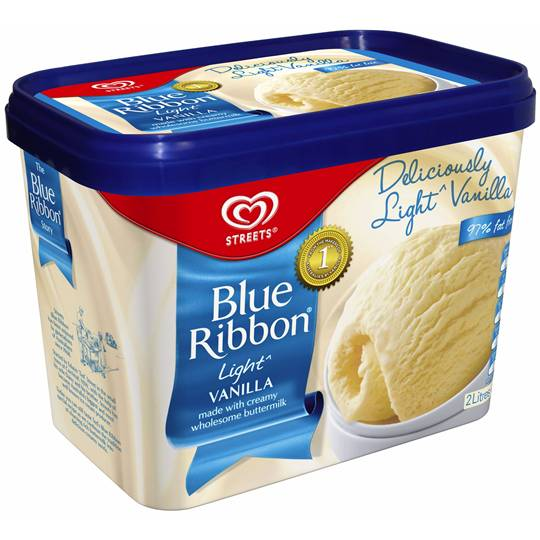 Streets Blue Ribbon Ice Cream Light Vanilla