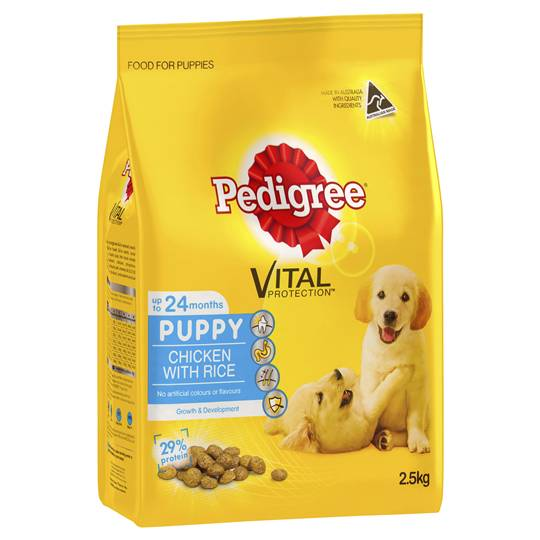 Pedigree Puppy Food Chicken & Rice