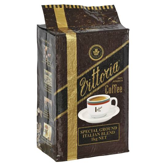 Vittoria Italian Blend Ground Coffee