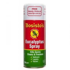 Bosistos Eucalyptus Oil Aerosol Spray