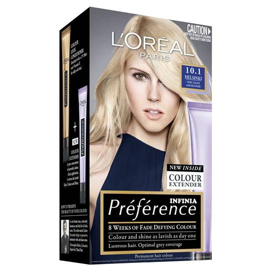 L'oreal Preference Helsinki Very Light Ash Blonde