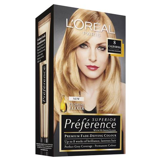 L'oreal Preference 8 California Natural Blonde