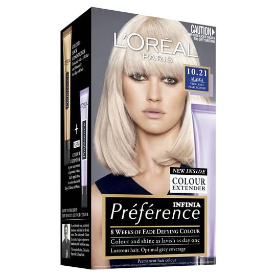 L'oreal Preference 10.21 Alaska Pearl Blonde