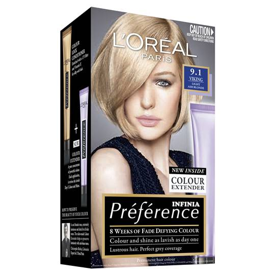 L'oreal Preference 9.1 Viking Light Ash Blonde