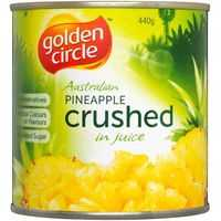 Golden Circle Pineapple Crushed In Natural Juice